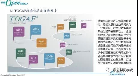 數字化時代頂層設計TOGAF9.2